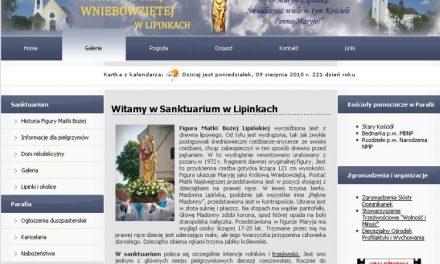 Sanktuarium wLipinkach debiutuje wInternecie