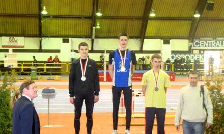 Szymon Kulka złotym medalistą Halowych Mistrzostw Polski Juniorów wLA