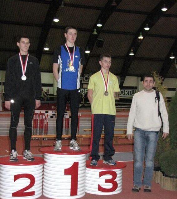 Szymon Kulka zULKS Lipinki zdobywa drugi złoty medal