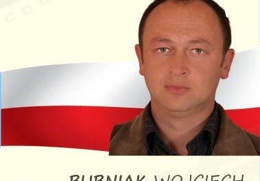 Wojciech Bubniak kandydatem doRady Gminy Lipinki