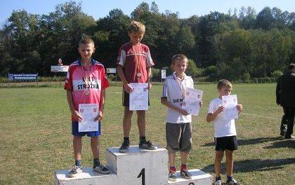Młodzi biegacze zLipinek zdobyli 6 medali wBobowej