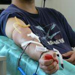 Akcja krwiodawstwa Klubu HDK PCK Lipinki wStacji Krwiodawstwa wGorlicach