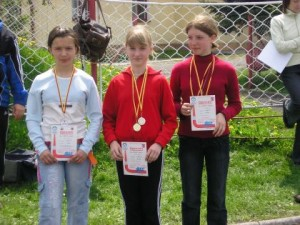 Medaliści SP wLipinkach