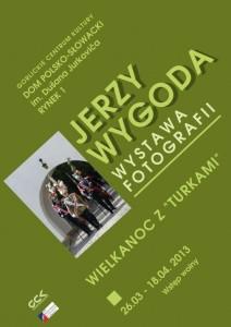 """Jerzy Wygoda: Wielkanoc z""""turkami"""" (plakat)"""