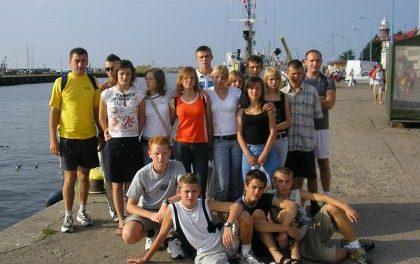 Obóz sportowy wUstce orazsukcesy lipińskich lekkoatletów