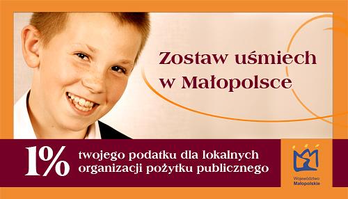 Zostaw uśmiech wMałopolsce