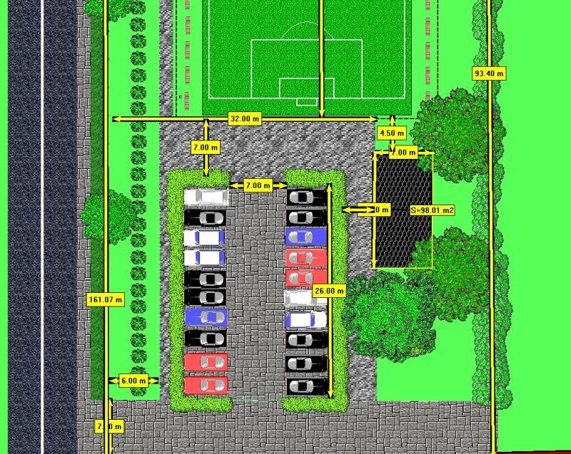 Projekt kompleksu parkowego wokół starego kościoła wLipinkach gotowy