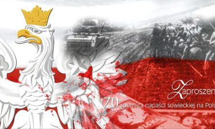 Pamiętamy o17 września 1939 roku. Uroczystości wGorlicach