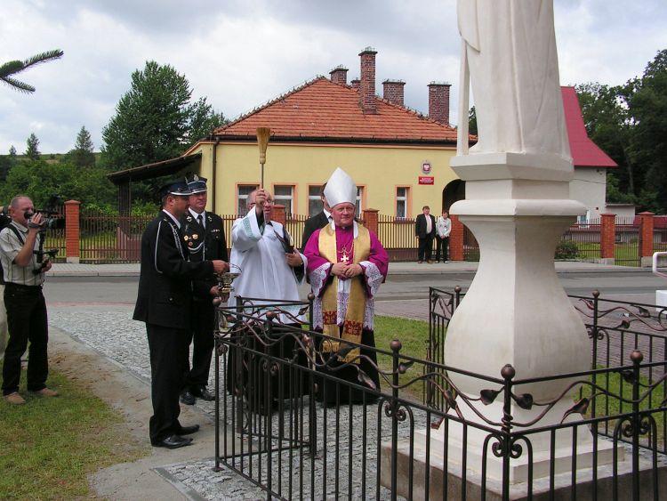 Święty Florian wLipinkach poświęcony