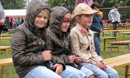 Festyn wPagorzynie pomimo deszczu udany