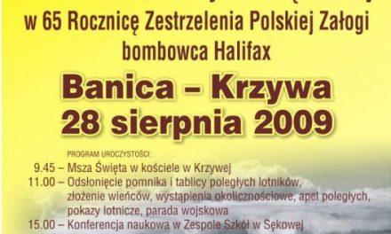 Pomnik polskiej załogi zestrzelonego Halifaxa