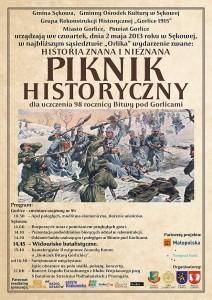 Piknik Historyczny wSękowej (plakat)