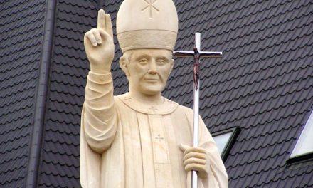 Pomnik Jana Pawła II stanął wLipinkach