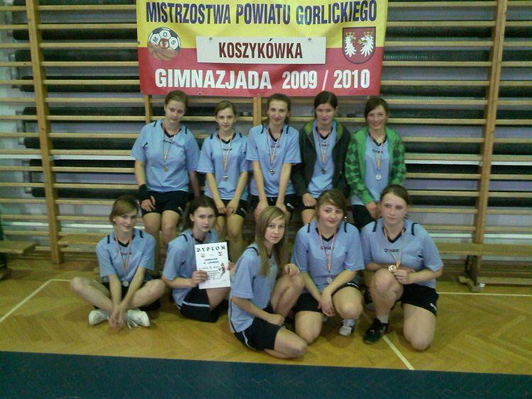 Mistrzostwa Powiatu wkoszykówce dziewcząt