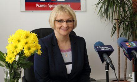 Poseł Barbara Bartuś orodzinie, bezrobociu ihandlu wniedzielę