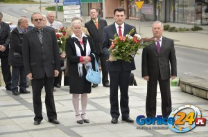 Delegacja rady powiatowej SLD - © Gorlice24.pl