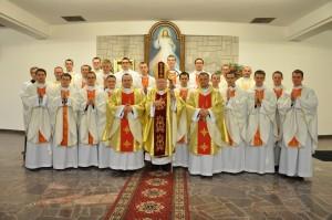 Neoprezbiterzy Diecezji Rzeszowskiej - © WSD Rzeszów