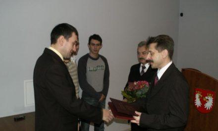 Gratulacje dla ULKS Lipinki orazTomasza Świerzowskiego