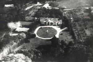 Kompleks dworski wLipinkach - zdjęcie lotnicze (1928 r.)