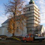 Remont starego kościoła wLipinkach