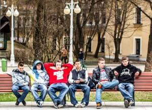 Członkowie grupy Kolejny Element wKrynicy - © Monika Nowak