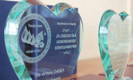 Klub HDK Lipinki świętował Światowy Dzień Krwiodawcy
