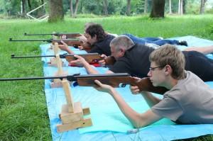 Zawody Strzeleckie III Gminnych Igrzysk LZS