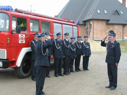 Strażacy OSP Lipinki