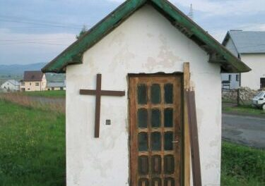 Kapliczki ikrzyże przydrożne Lipinek, Wójtowej iLibuszy