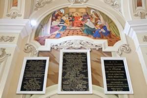 Epitafia starego kościoła wLipinkach