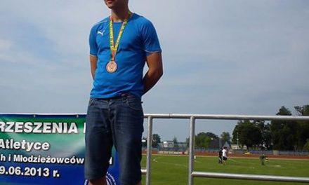 Kamil Frączek brązowym medalistą Mistrzostw Zrzeszenia LZS wLA