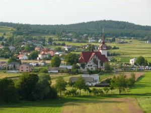 Kościół parafialny wPagorzynie