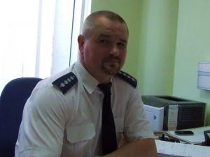 Asp. szt. Paweł Karp - kierownik Posterunku Policji wLipinkach
