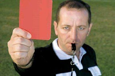 Piłkarze LKS Wójtowa zobaczyli 5 czerwonych kartek