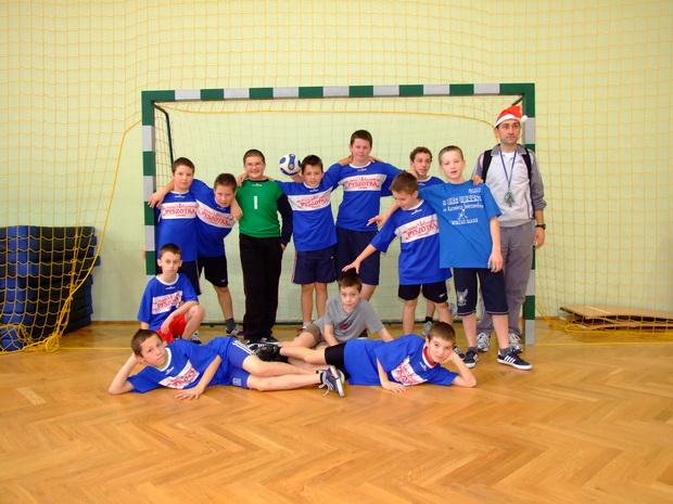 Zakończył się II Turniej Mikołajkowy Piłki Ręcznej wLipinkach