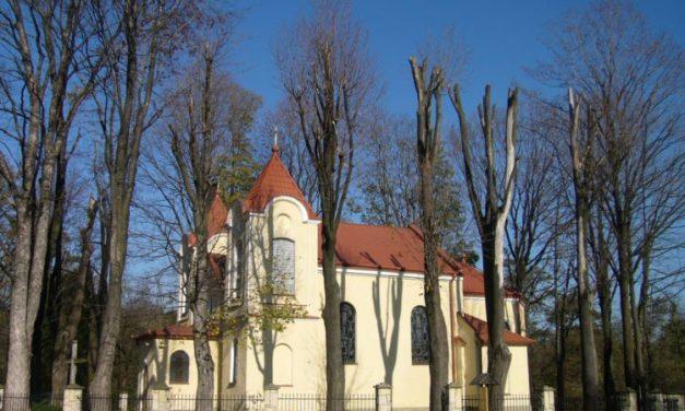 Kościół wBednarce poremontach