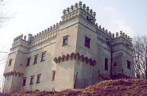 Zamki iwarownie wokolicach Lipinek