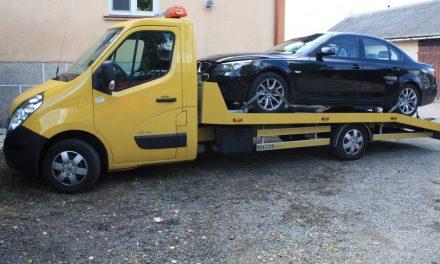 Gorliccy policjanci odzyskali wBednarce przywłaszczone BMW