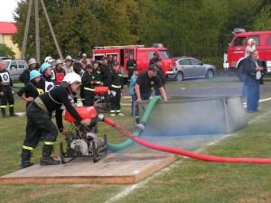 Tak walczyli strażacy OSP w2012 roku.