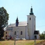 Powstaje kompleks parkowy wokół starego kościoła wLipinkach