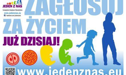 Jeden zNas. Największa wEuropie inicjatywa pro-life