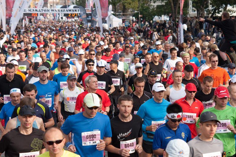 35. Maraton Warszawski zudziałem biegaczy ULKS Lipinki