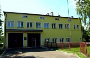 Budynek remizy OSP Wójtowa