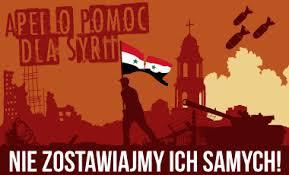 Zbiórka dopuszek napomoc dla ofiar konfliktu wSyrii