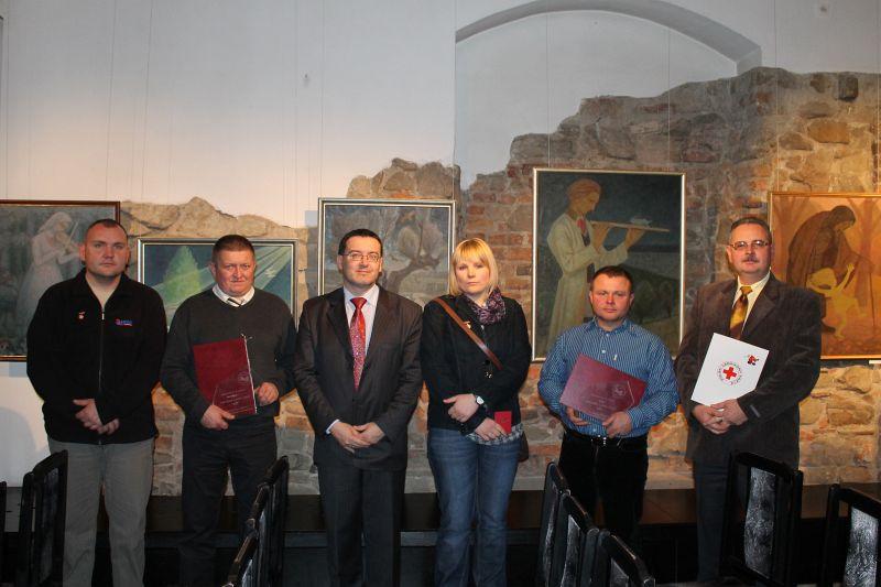 Krwiodawcy Klubu HDK Lipinki wyróżnieni wGorlicach