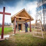 Msza zaOjczyznę przy odnowionej kapliczce św.Marcina
