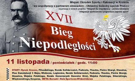 Lekkoatleci ULKS Lipinki uczcili Święto Niepodległości