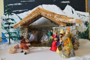 Szopka bożonarodzeniowa zSzymbarku