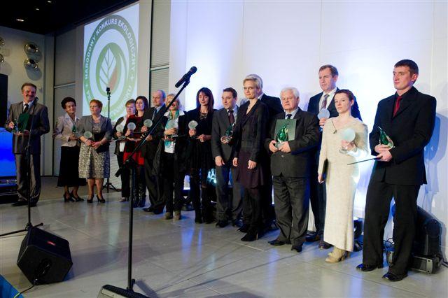 Wójt Czesław Rakoczy odebrał Europejską Nagrodę Ekologiczną dla Gminy Lipinki