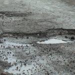 Bednarskie straszy dziurawą iniczyją drogą